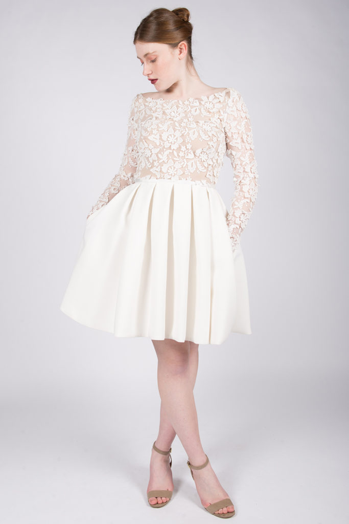 Model robe blanche 2017