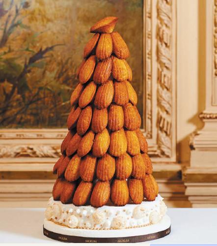 angelina-wedding cake-madeleines