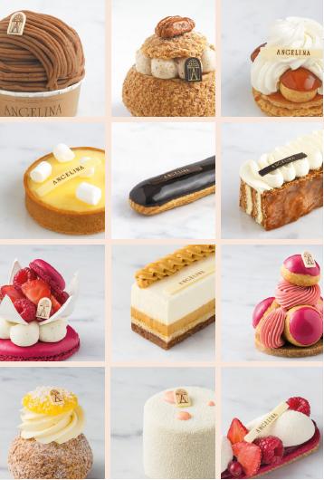 angelina paris - pastries
