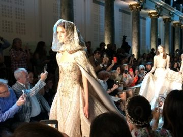 fashion show paris - getting married in paris