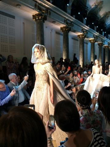 fashion show paris - getting married in paris