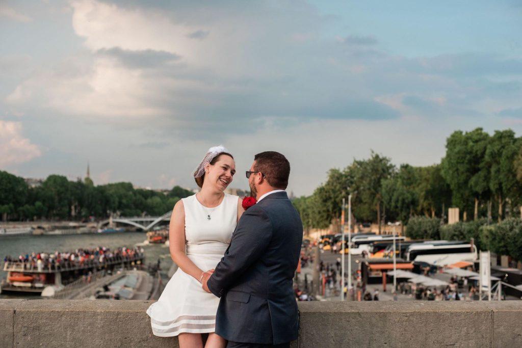 Alison & Teddy elopement in Paris 2