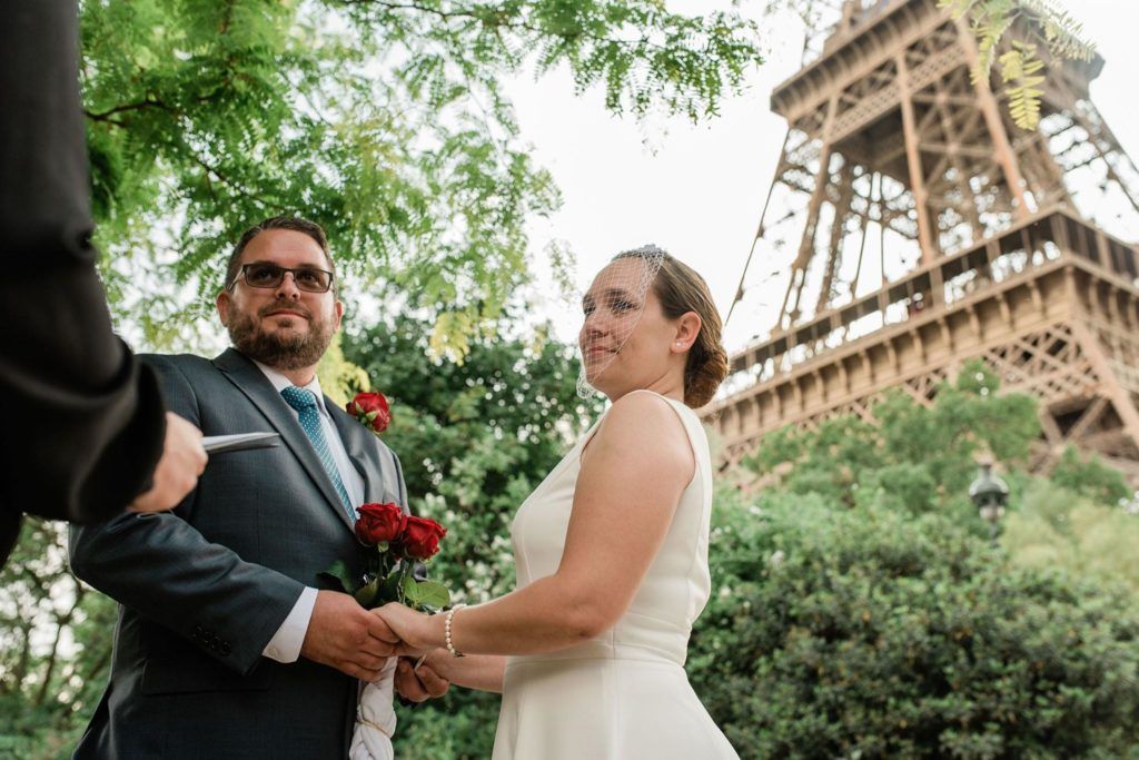 Alison & Teddy Elopement Paris