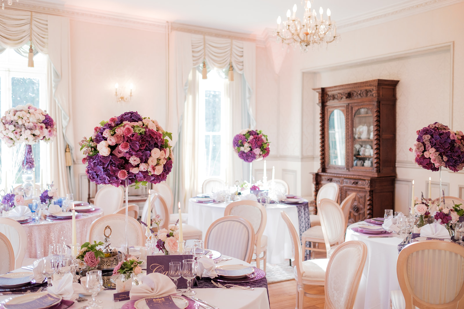 destination wedding reception in France